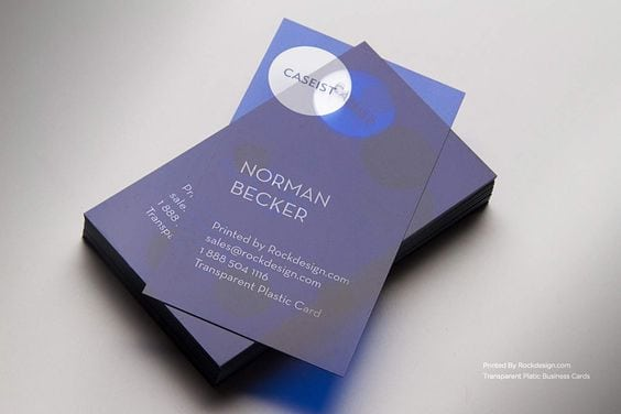 40 plastic business cards and why you need them plastic business cards inspiration design 27 reheart Choice Image