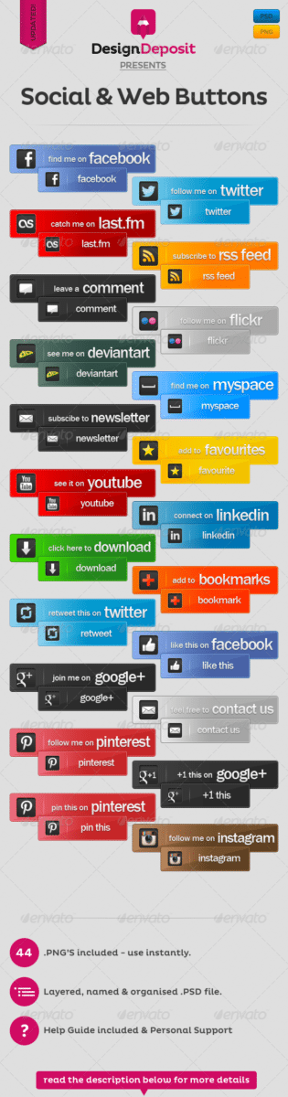 social-and-web-buttons