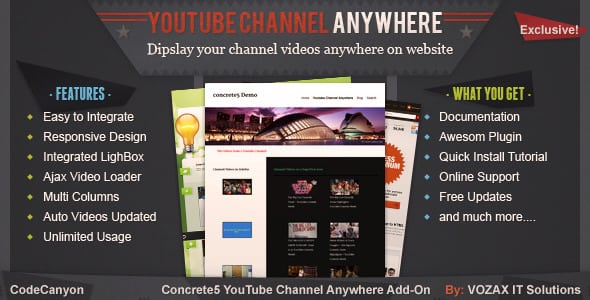youtube-channel-anywhere-concrete5-addon